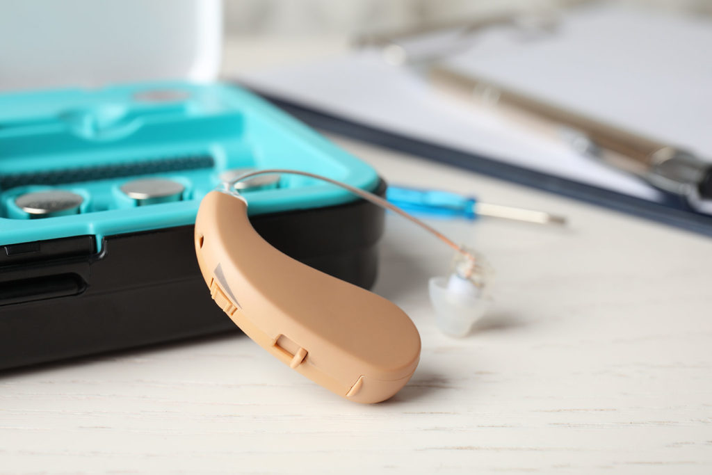 hearing aid care and cleaning